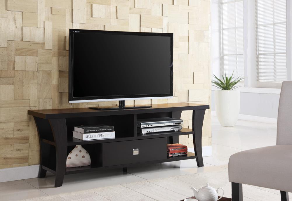 G700497 Transitional Cappuccino TV Console image