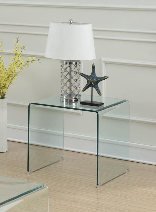 G705328 Contemporary Clear End Table image