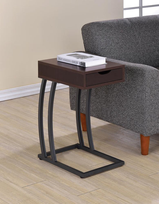 Industrial Cappuccino Accent Table image