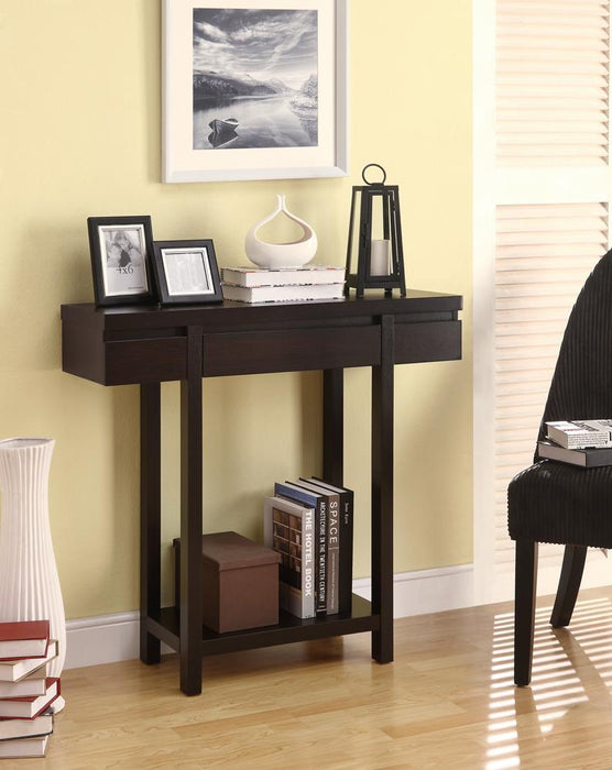 G950135 Contemporary Cappuccino Console Table image