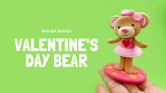 Cute Bear for Valentine's Day