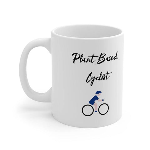 Plant Based Cyclist Mug - Built With Plants Store