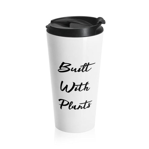 Built With Plants Stainless Steel Travel Mug - Built With Plants Store