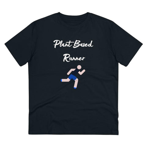 Plant Based Runner Organic T-shirt - Unisex - Built With Plants Store