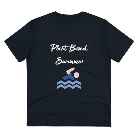 Plant Based Swimmer Organic T-shirt - Built With Plants Store