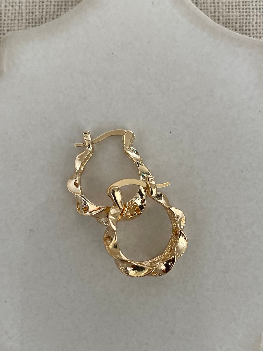 Becca Twisted Hoops