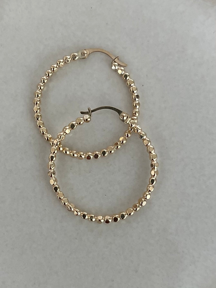 Irissa Ball Hoop Earrings
