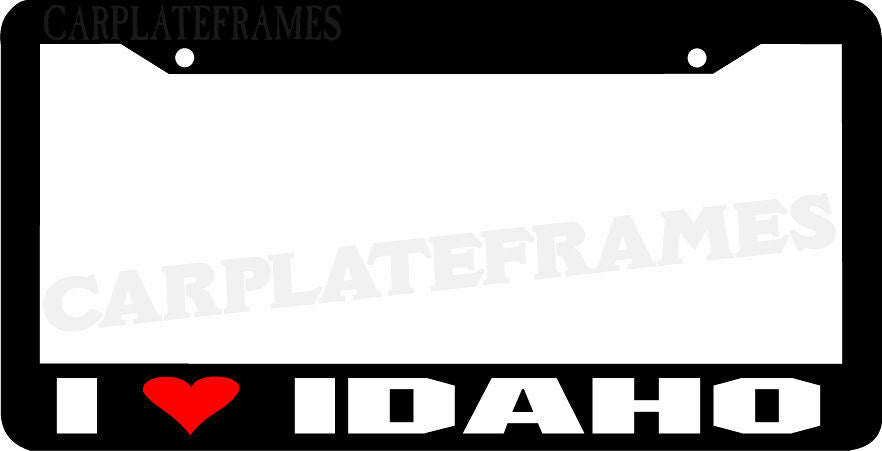 I LOVE Idaho License Plate Frame