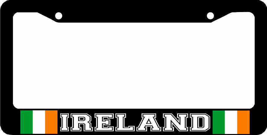 IRELAND IRISH flag ireland  License Plate Frame