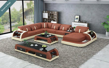 Load image into Gallery viewer, Blay Modern Sectional Sofa with LED light