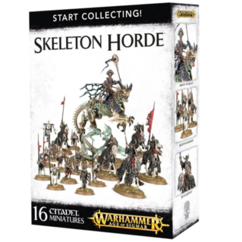 Start Collecting - Skeleton Horde
