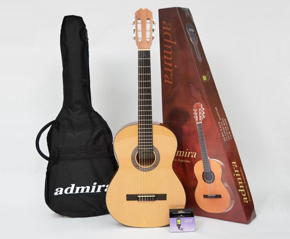 ADMIRA ALBA PACKAGE W/BAG & TUNER