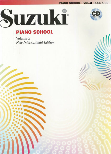 Suzuki Piano School CD, New International Edition Volume 2