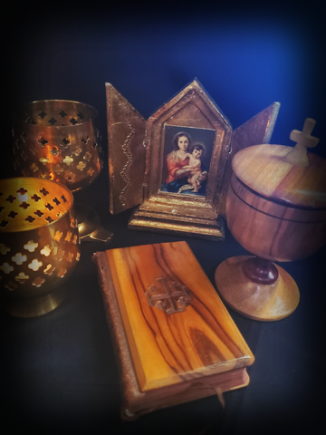 Olive Wood Prayer Book