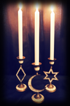 Celestial Candle Holders