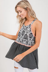Sleeveless Tunic Top