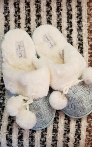 Pattern Touch Slipper