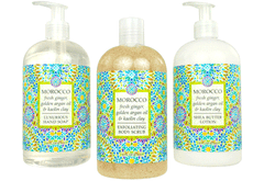 MOROCCO—fresh ginger, golden argan oil & kaolin clay - Bottle Spa