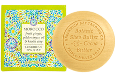 MOROCCO—fresh ginger, golden argan oil & kaolin clay