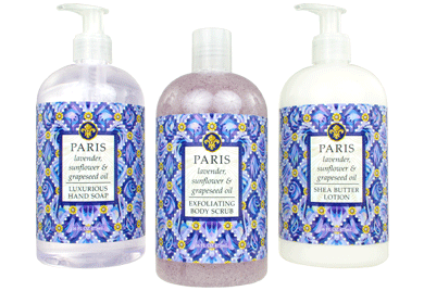 PARIS—lavender, sunflower & grapeseed oil