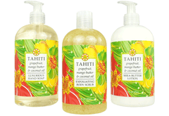 TAHITI—grapefruit, mango butter & coconut oil - Bottle Spa