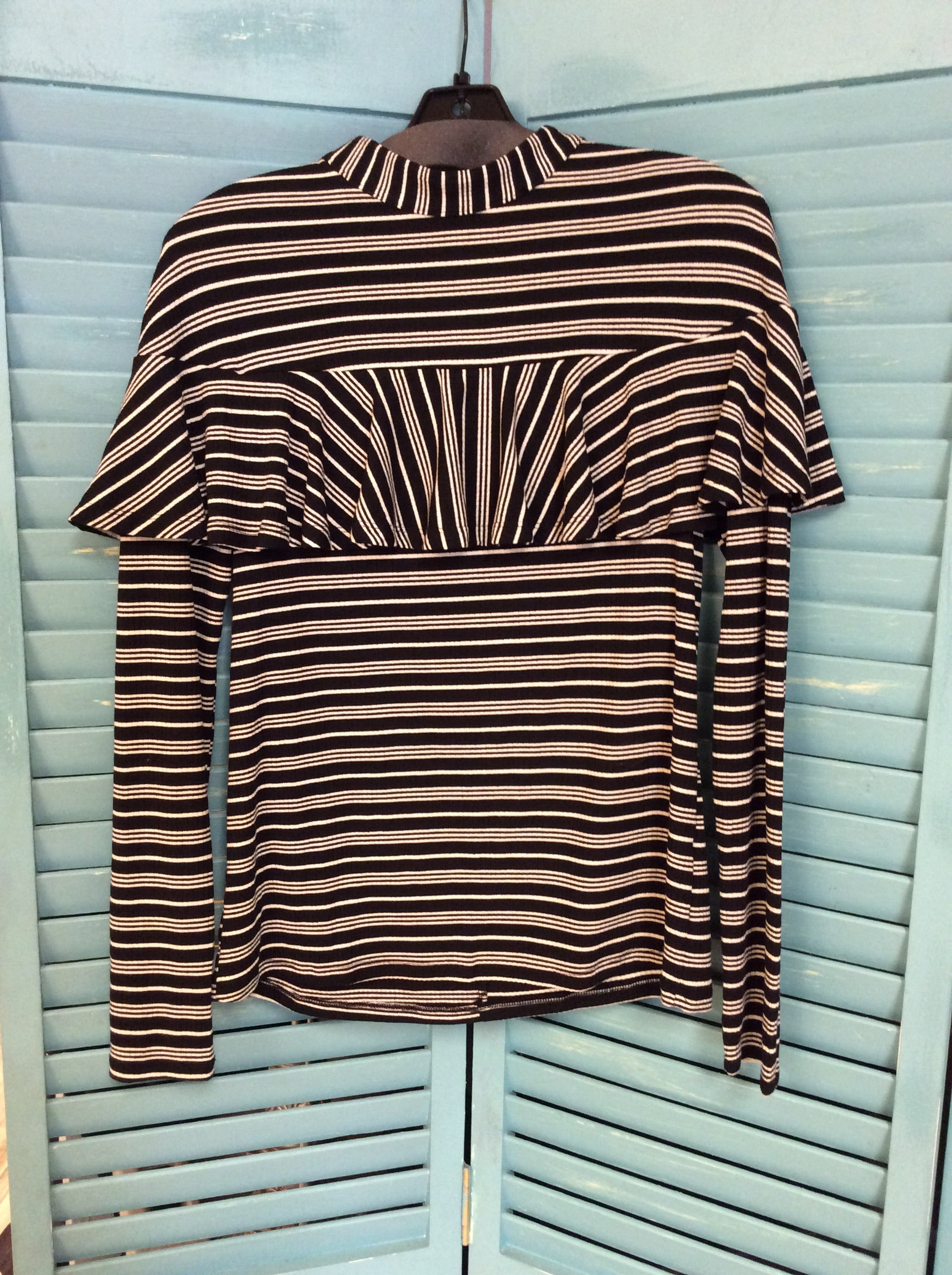 Striped Ruffle