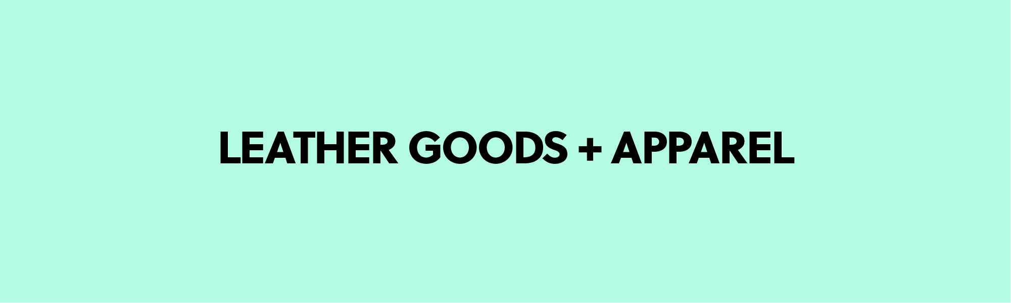 Andrea Pascual Designer Links Leather Goods and Apparel