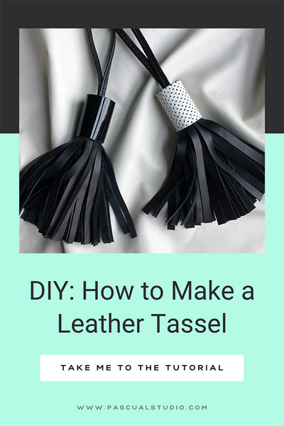 Andrea Pascual How to Make a Leather Tassel