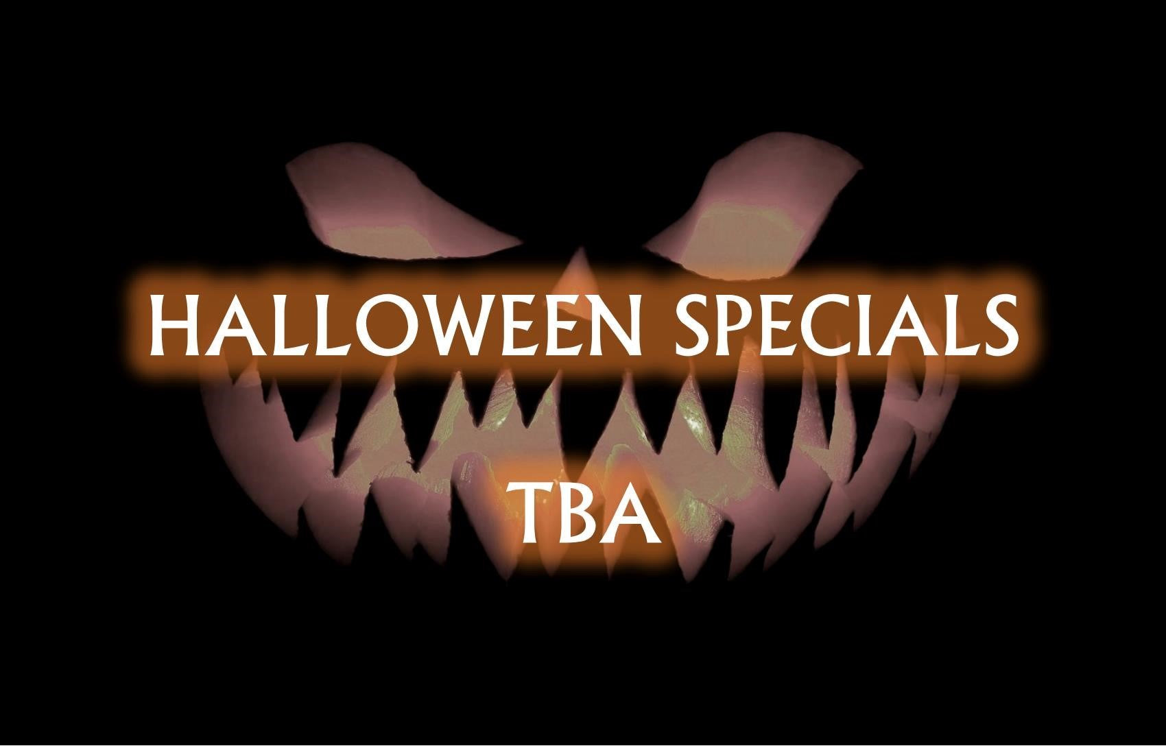 Halloween Specials To Be Announced