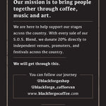 Support Our Stages Coffee Blend