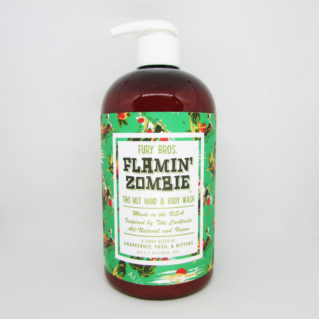 Flamin' Zombie Tiki Hut Hand & Body Wash