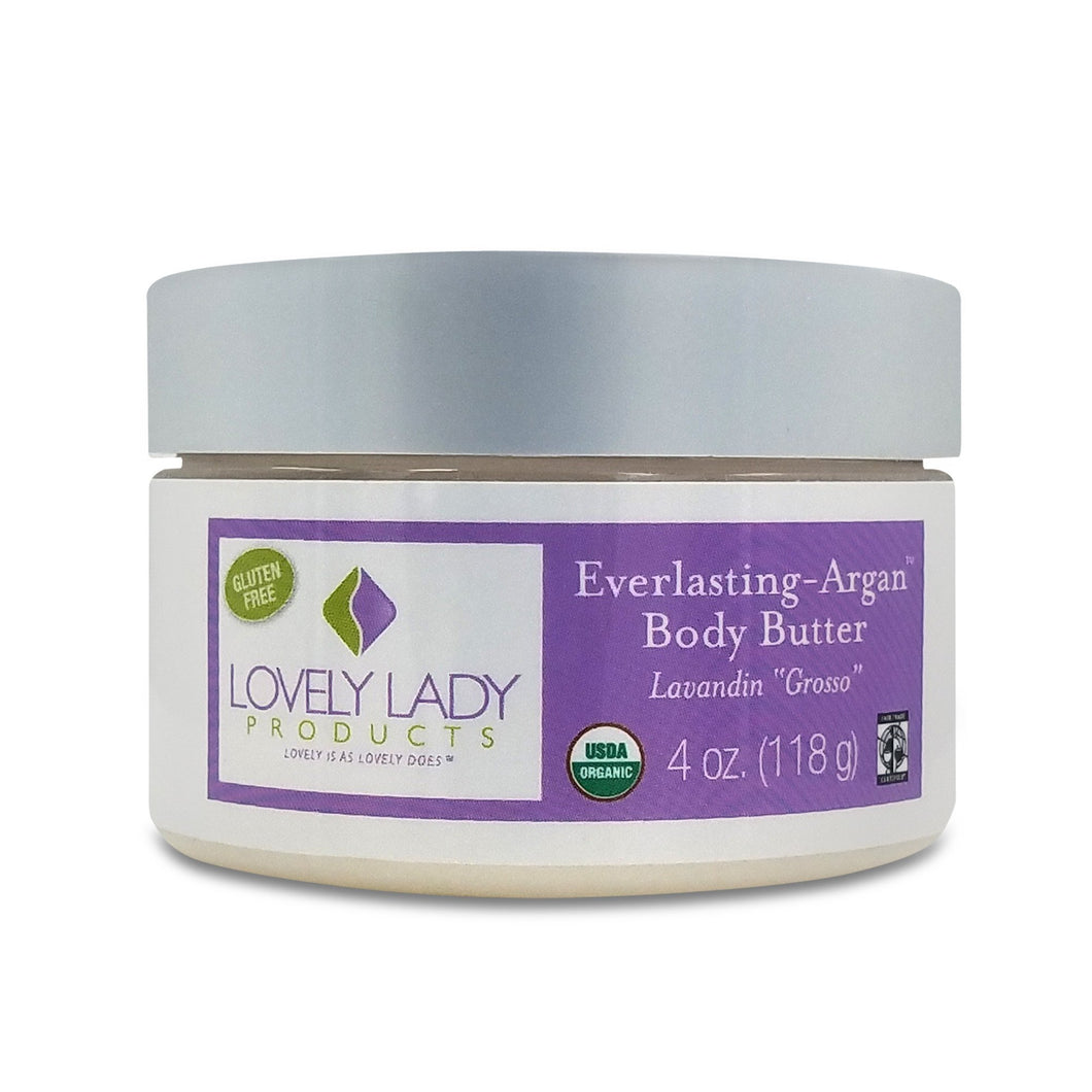 Everlasting-Argan Lavandin Grosso Body Butter (Help your skin find its