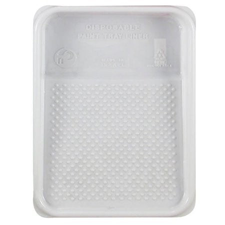 "Premier  9"" 22 Tray Liner White Pebbled"