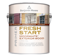 Fresh Start Moorwhite® Exterior Wood Primer 100