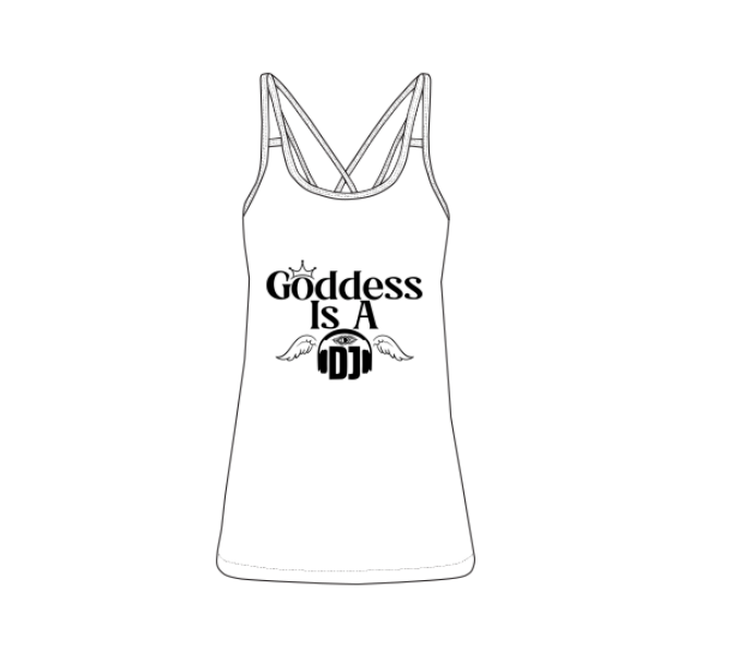 Goddess Is A DJ Women's Vest
