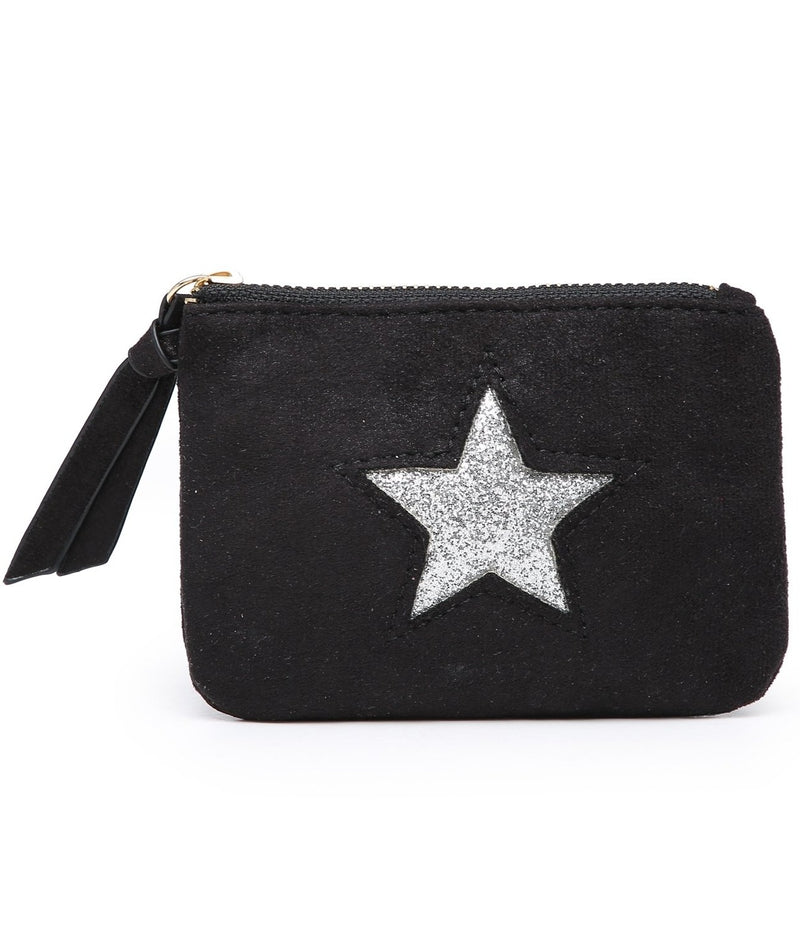 Black Star Mini Purse