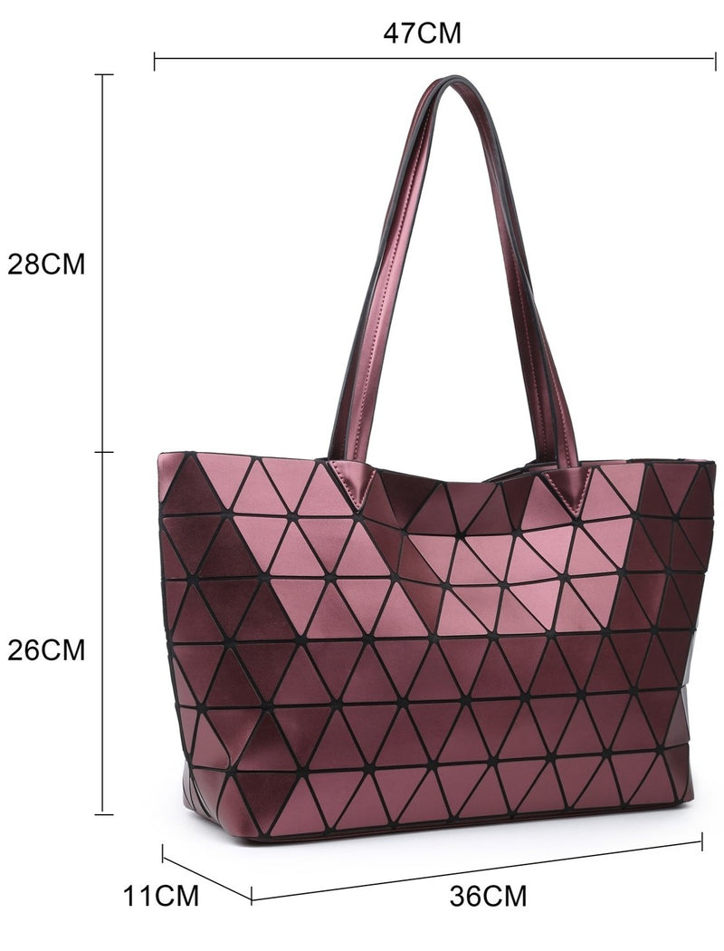 Black Prism Tote Bag