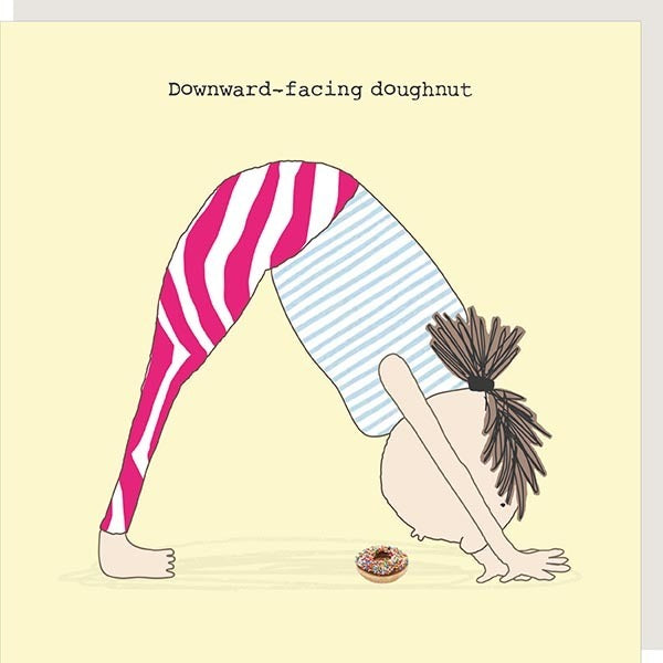 Downward Doughnut Card