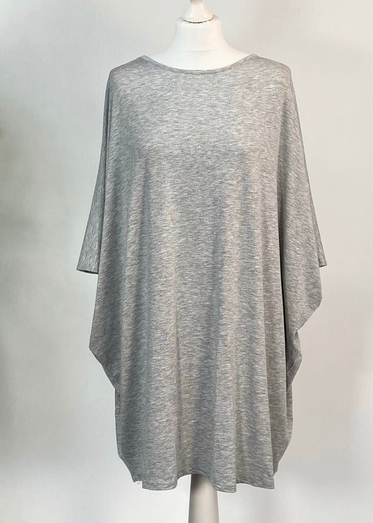 Marl Grey Easy Dress