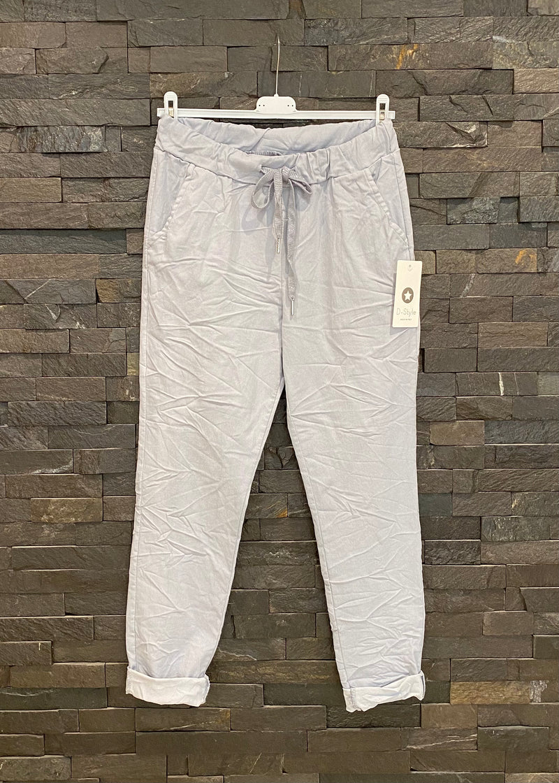 Silver Grey Magic Trousers
