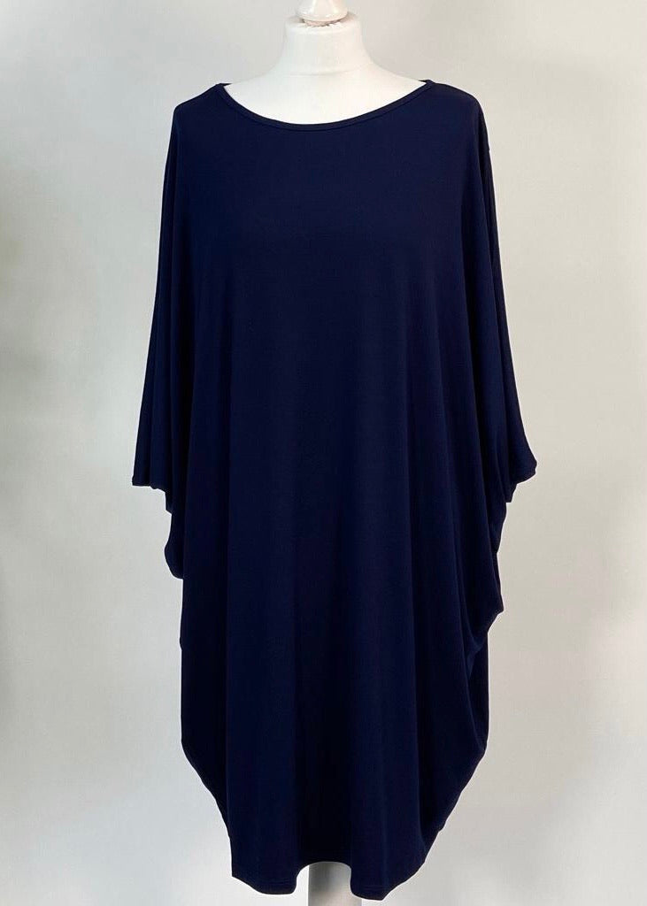 Navy Easy Dress