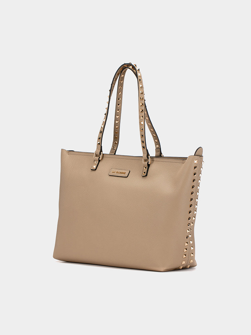Borsa Shopper taupe