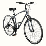 Hybrid Barron 21-Speed (Charcoal Gray)