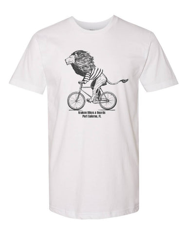 Lion on Bike T-shirt