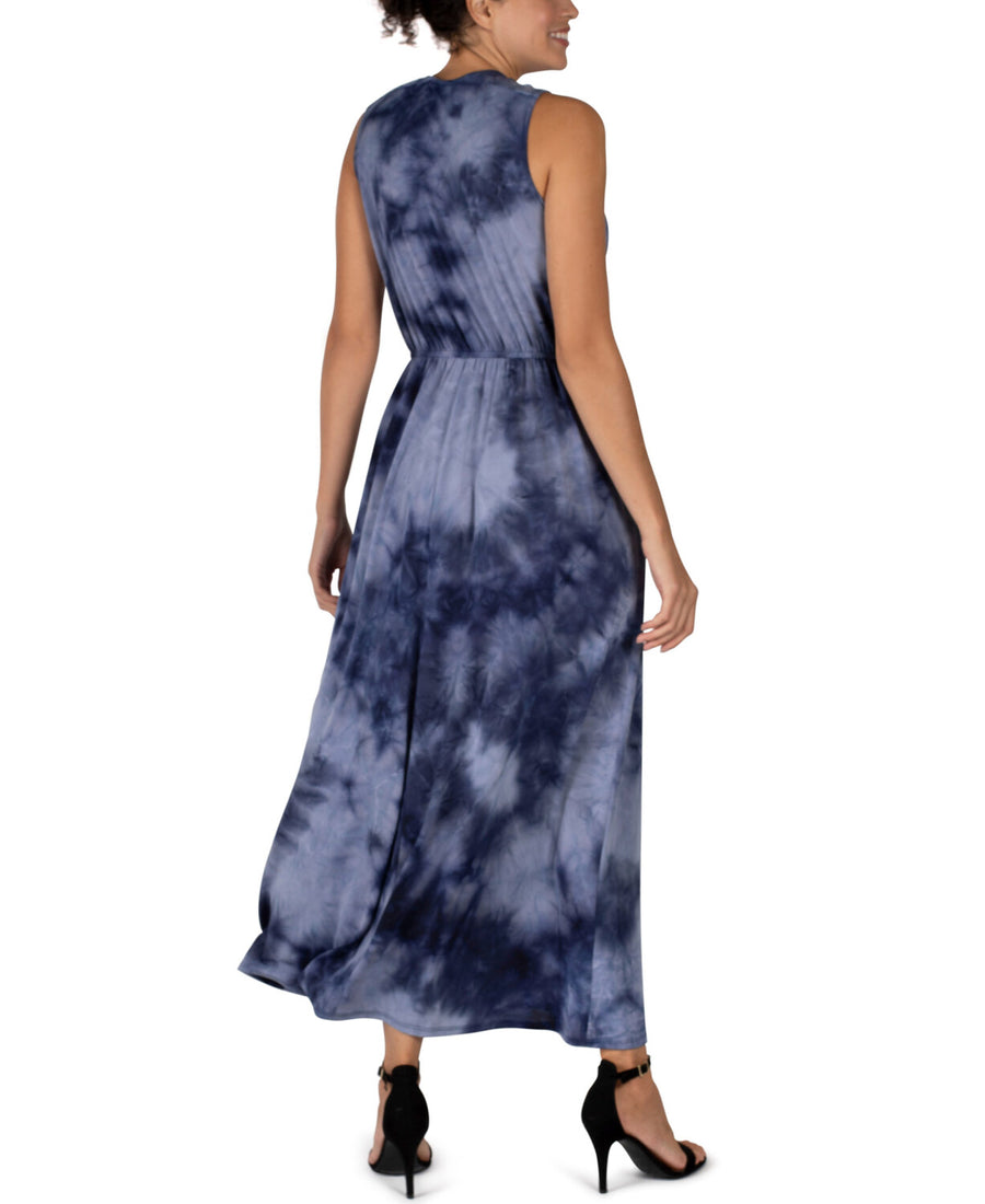 RB Navy Surplus Tie Dye Maxi Dress