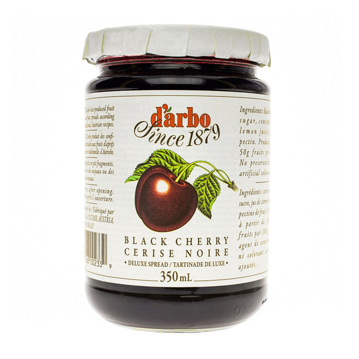 DARBO BLACK CHERRY JAM 350ML