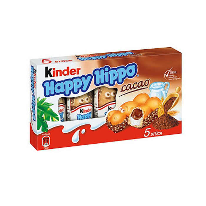KINDER HAPPY HIPPO 5 BARS-21,7G