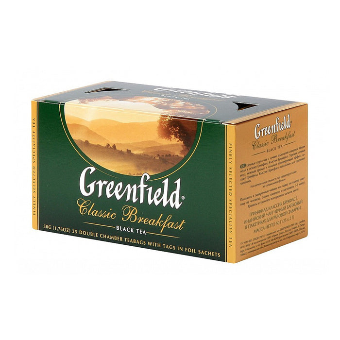 GREENFIELD CLASSIC BREAKFAST 25 BAGS