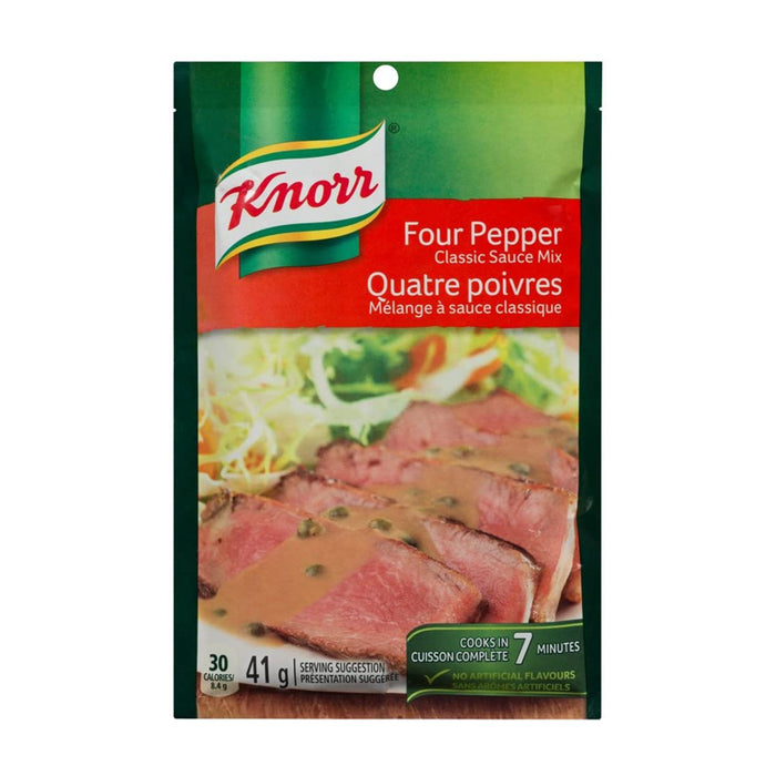 KNORR CLASSIC SAUCE MIX FOUR PEPPER 41G