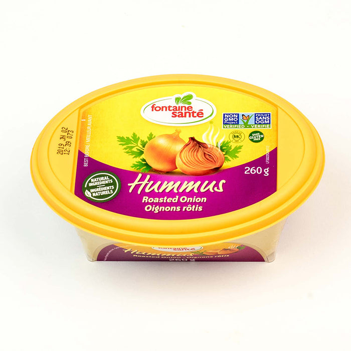 FONTAINE SANTÉ HUMMUS ROASTED ONION 260G